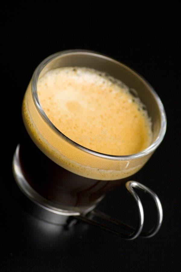 咖啡奶油杯子浓咖啡 免版税库存图片