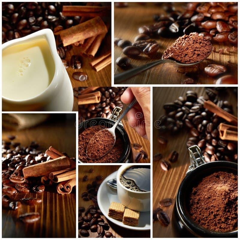 咖啡射击种类 库存图片