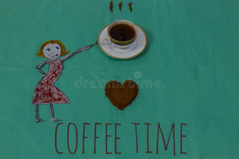咖啡恋人 图库摄影