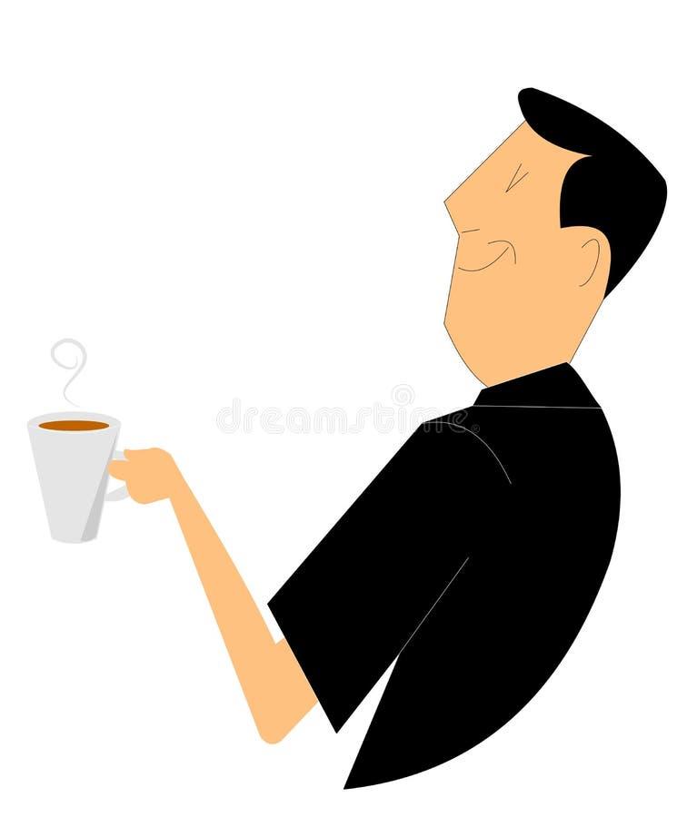 咖啡收集概念图象 免版税库存照片