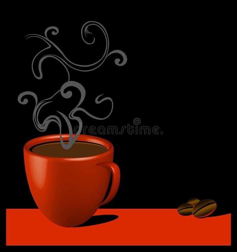 咖啡时间 向量例证