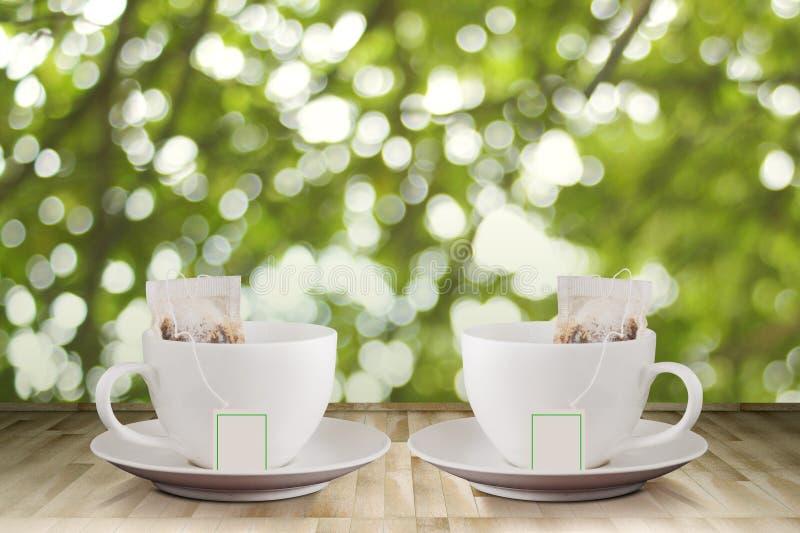 咖啡木表5 图库摄影