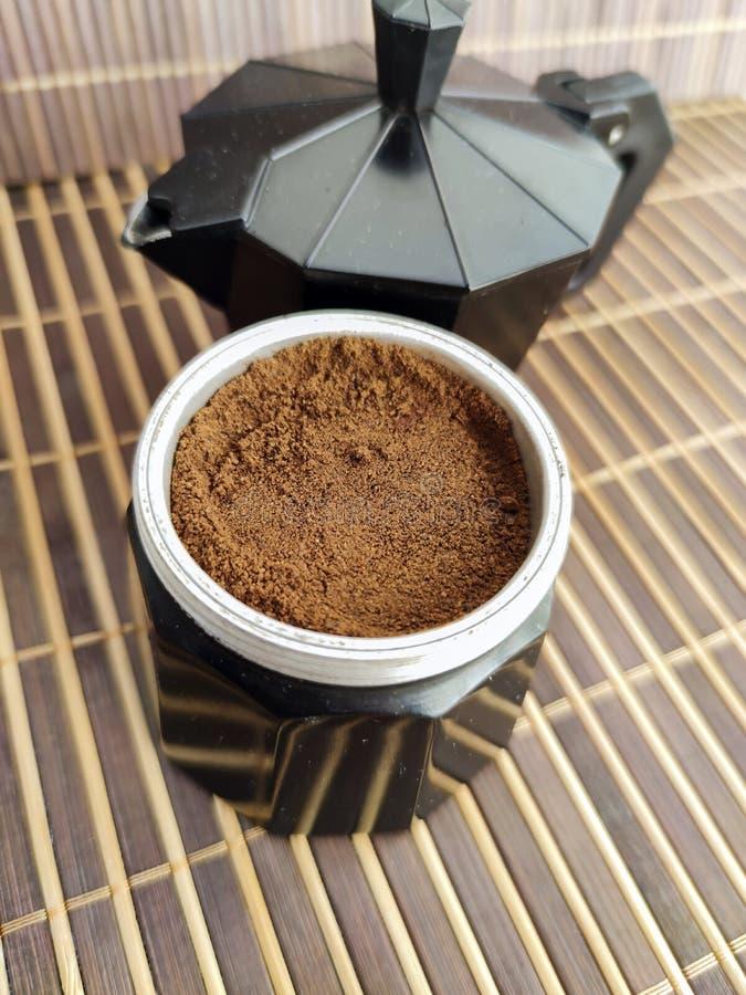 咖啡机 免版税库存照片