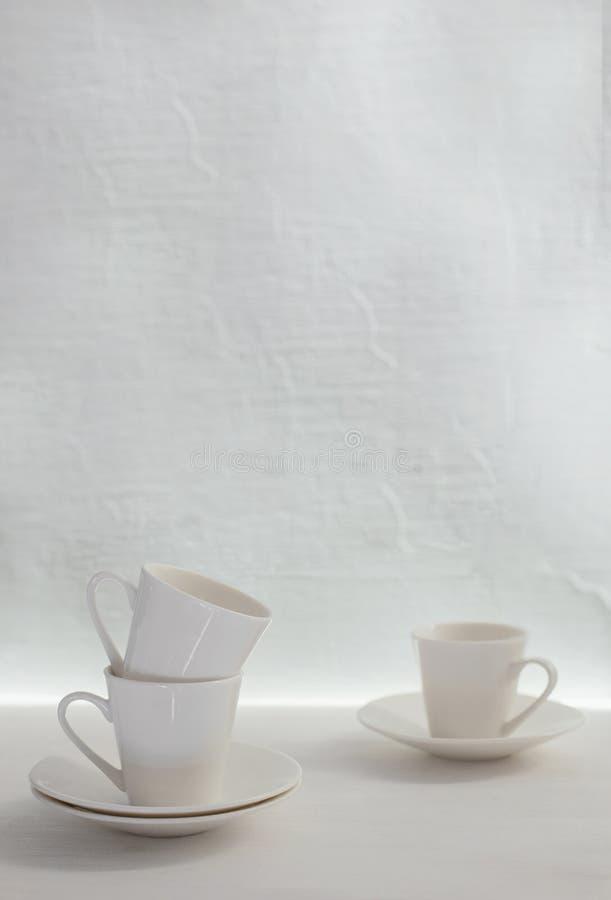 咖啡杯三 免版税库存图片