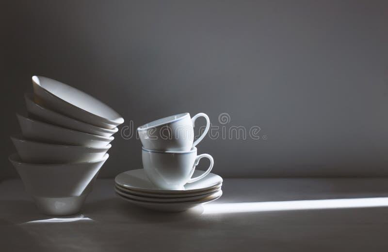 咖啡杯葡萄酒照片  免版税库存照片