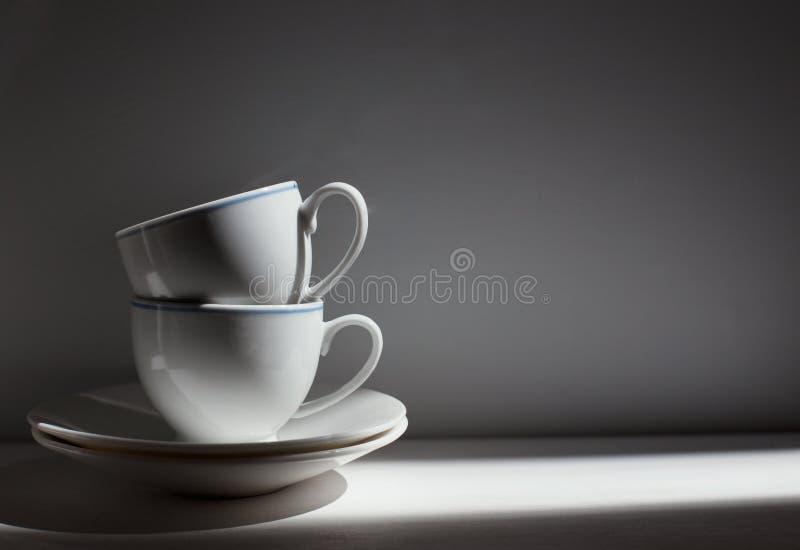 咖啡杯葡萄酒照片 库存图片