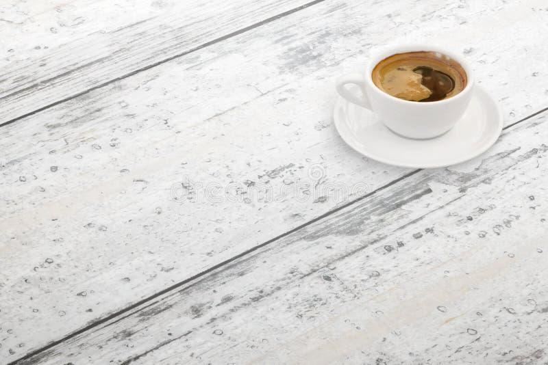 咖啡杯表 空位 等轴测图 免版税图库摄影