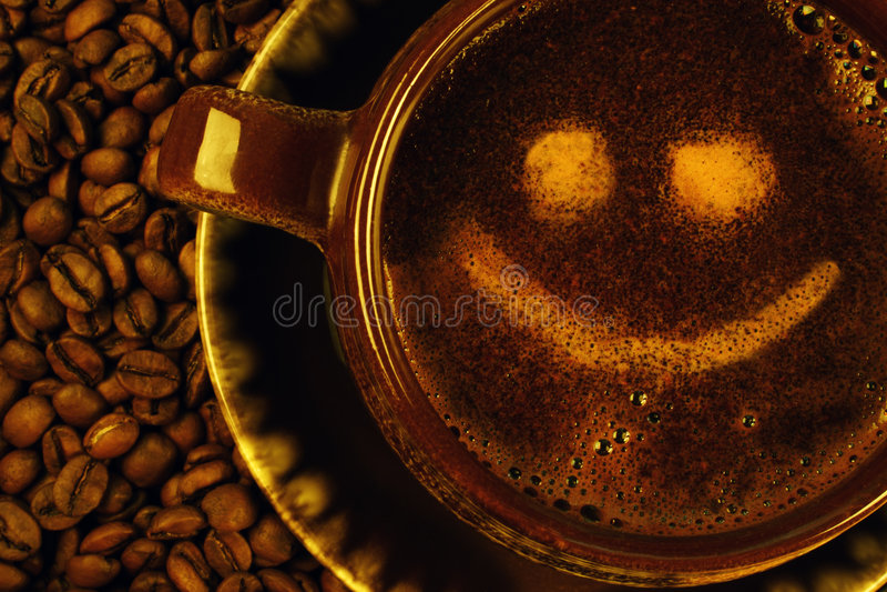 咖啡杯 库存图片