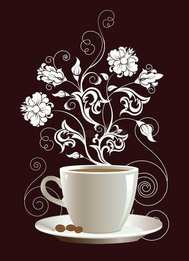 咖啡杯 向量例证
