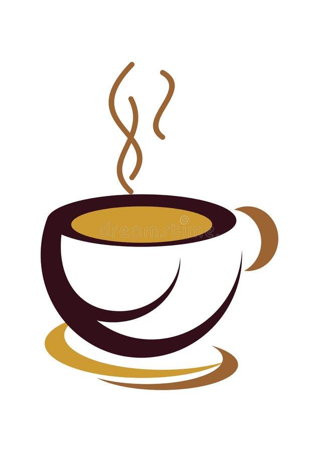 咖啡杯 皇族释放例证