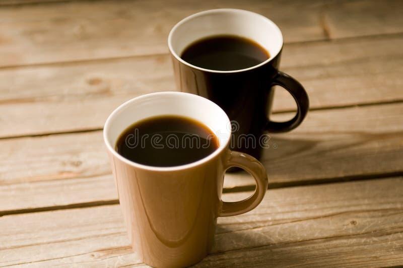 咖啡杯dof浅二 免版税库存图片