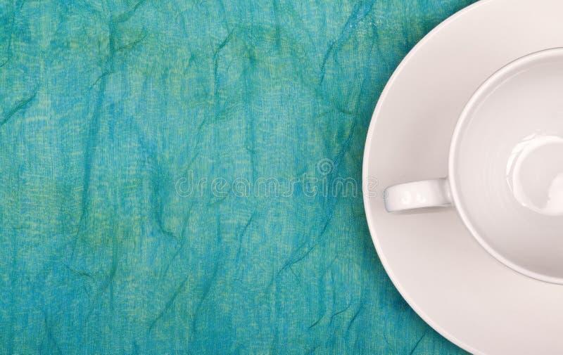 咖啡杯soucer常设表 库存照片