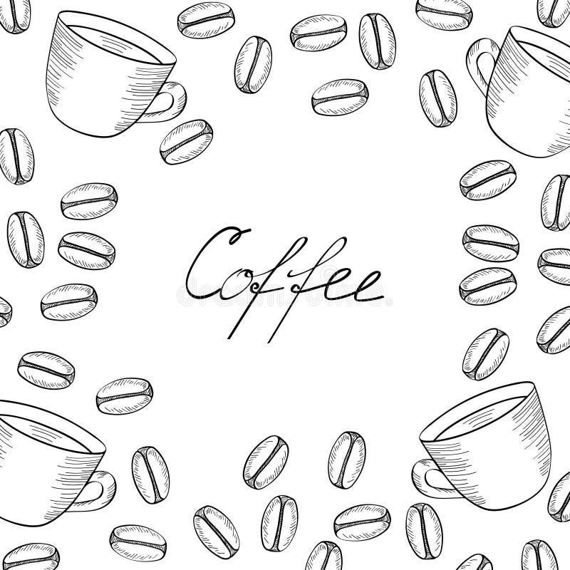 咖啡横幅2 向量例证