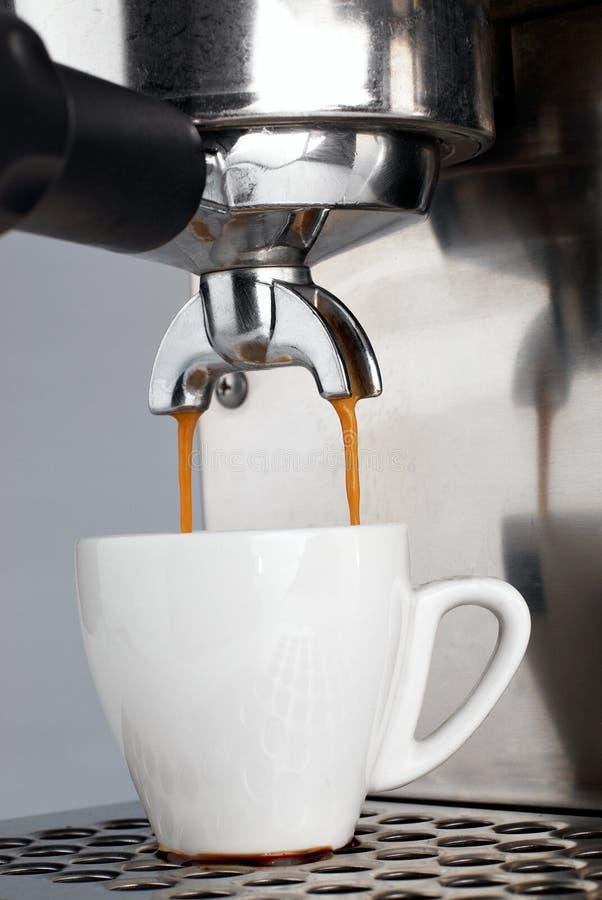 咖啡浓咖啡射击 免版税库存照片
