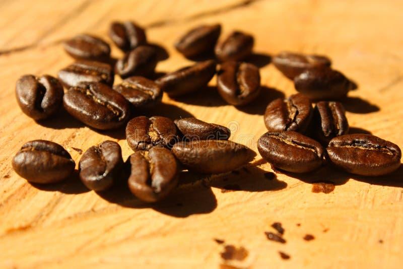 咖啡烤的哥伦比亚 免版税库存照片