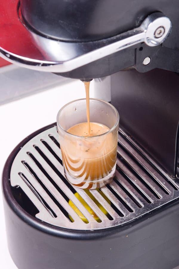 咖啡热射击 图库摄影