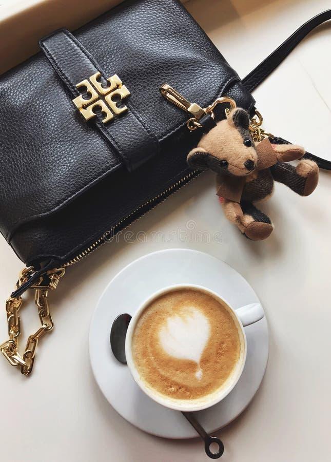 咖啡熊 库存照片
