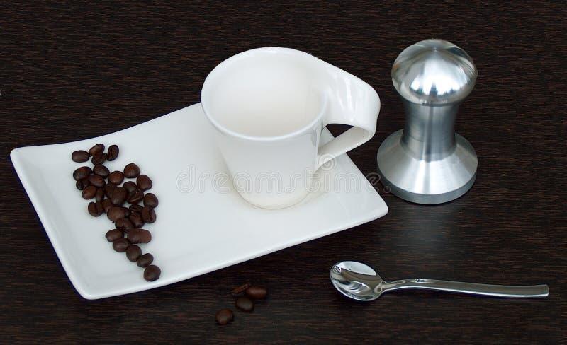 咖啡爱  免版税库存照片
