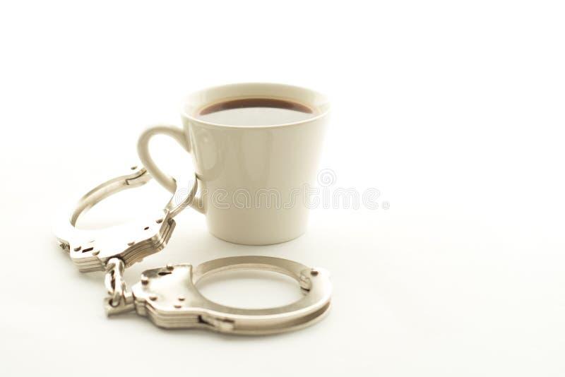 咖啡瘾 库存照片