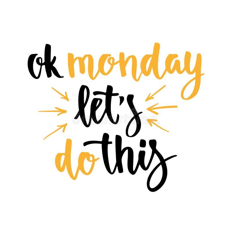 咖啡纸板袖子 星期天刺激行情 星期一 库存例证