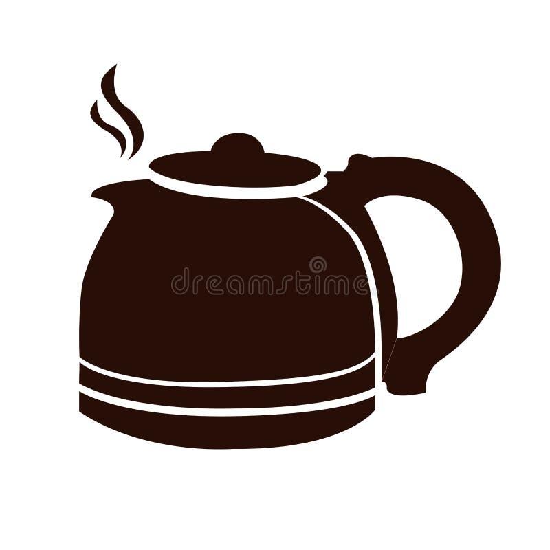 咖啡罐 库存例证