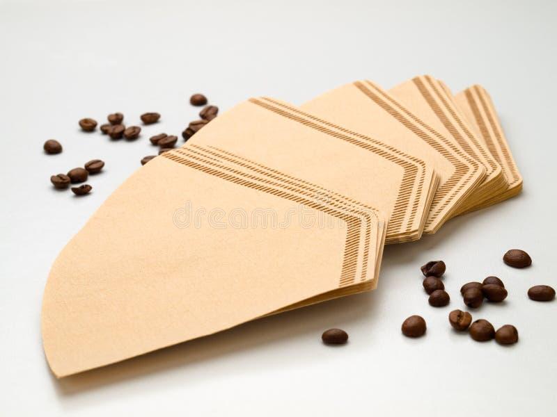 咖啡补白 免版税库存照片