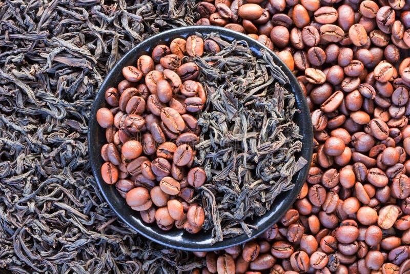 咖啡设计要素茶 图库摄影