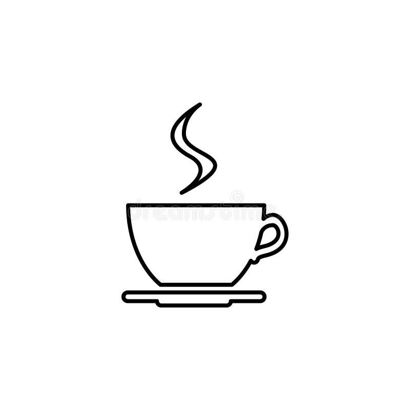 咖啡象线象 皇族释放例证