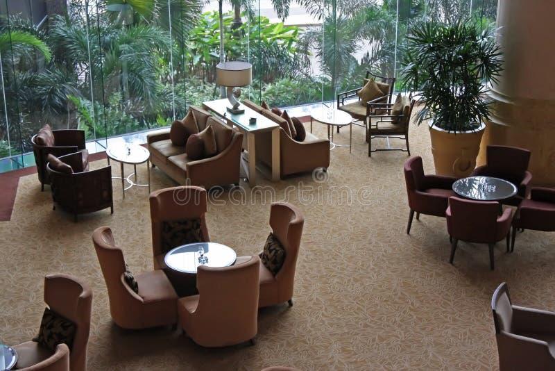 咖啡馆休息室 库存图片