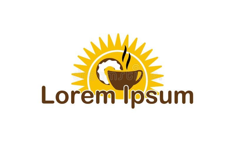 咖啡馆和咖啡产业的象 皇族释放例证
