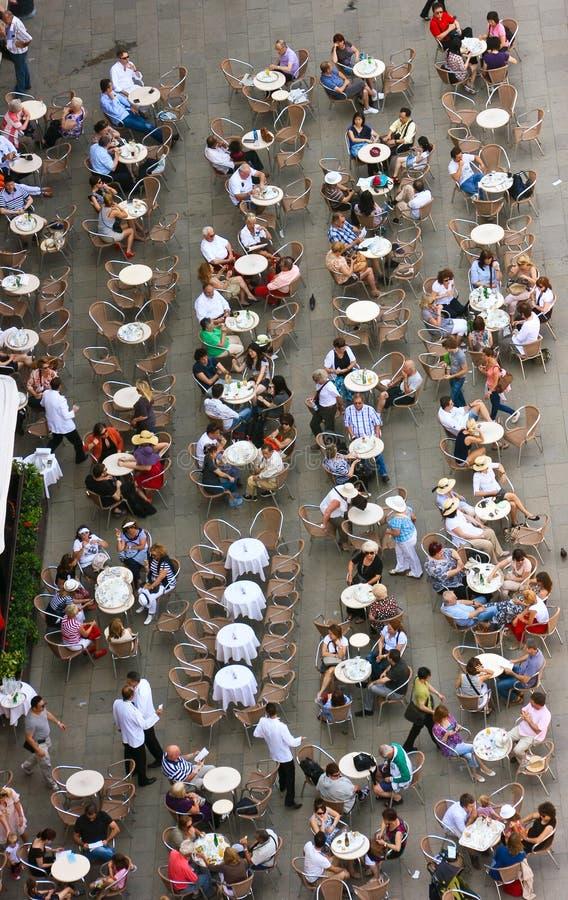 咖啡馆意大利威尼斯 库存图片