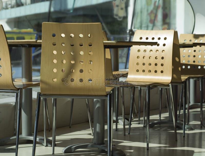 咖啡馆现代样式 免版税图库摄影