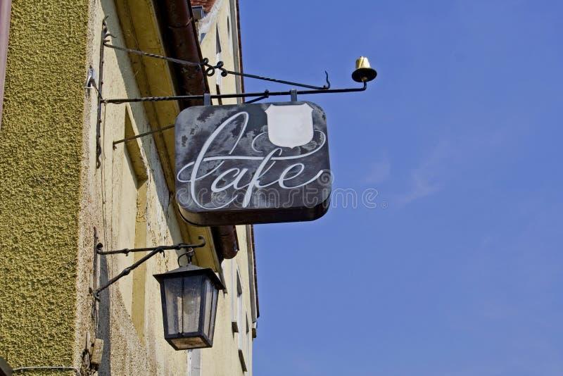 咖啡馆符号 图库摄影