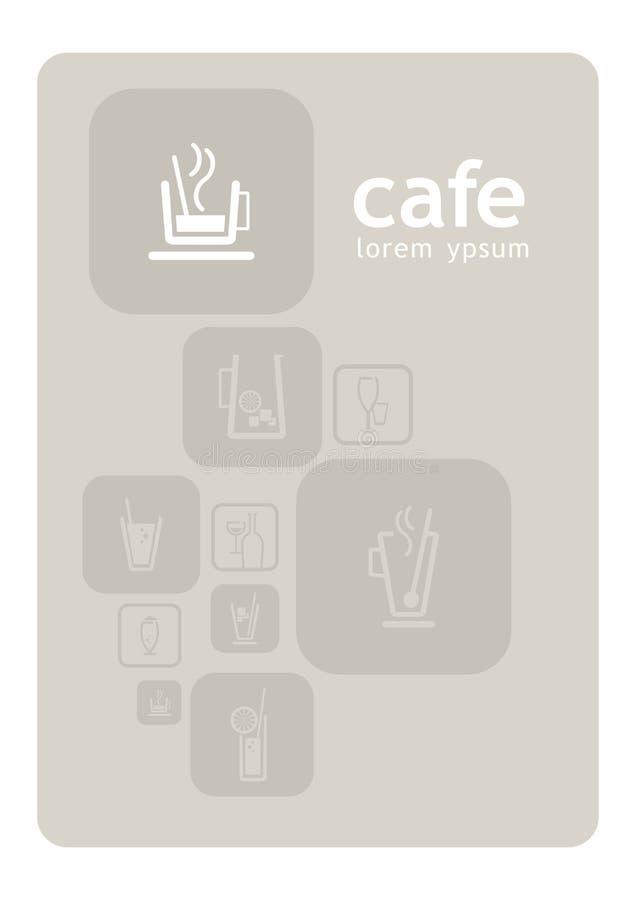 咖啡馆设计 免版税库存照片