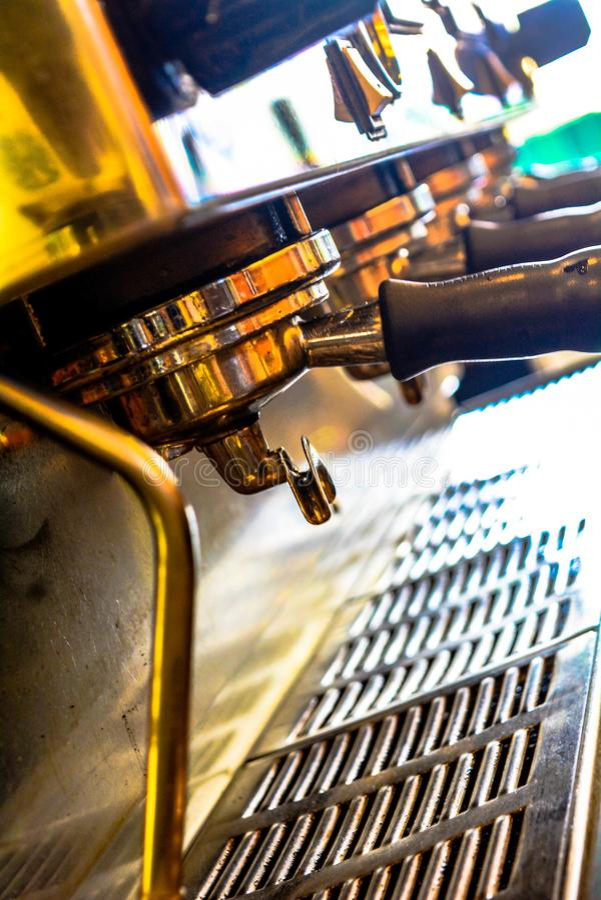 咖啡,零件,热,机器,不锈,作用, 库存图片