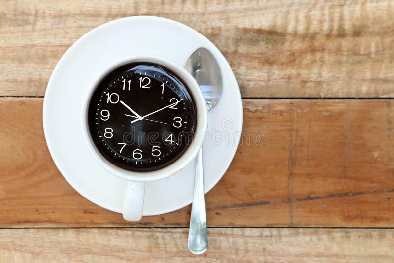 咖啡更多时间 免版税库存图片