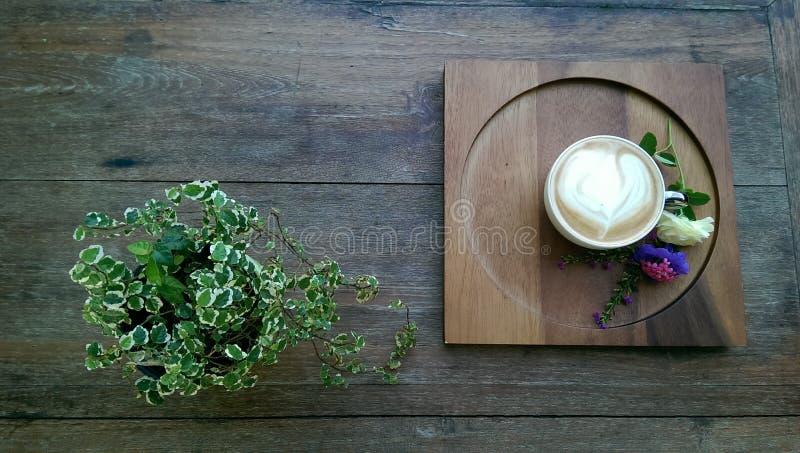 咖啡更多时间 免版税库存照片