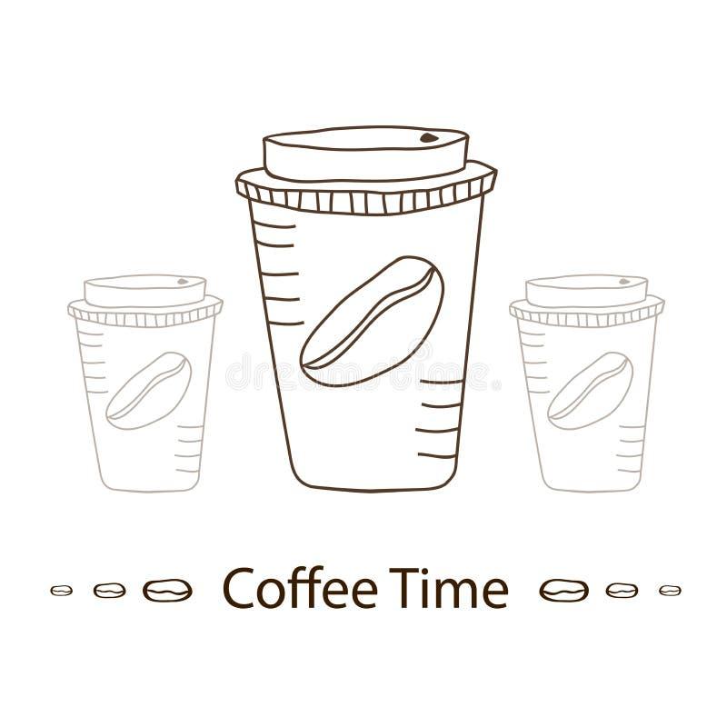 咖啡更多时间 图库摄影