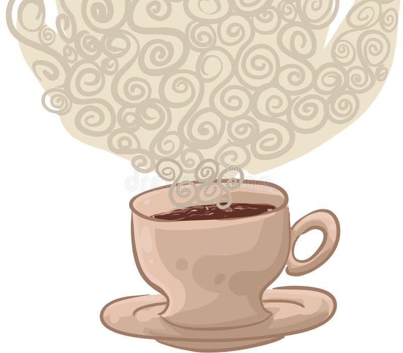 咖啡 库存例证