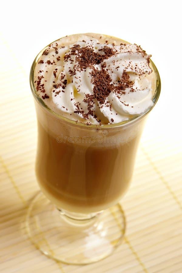 咖啡latte 库存图片