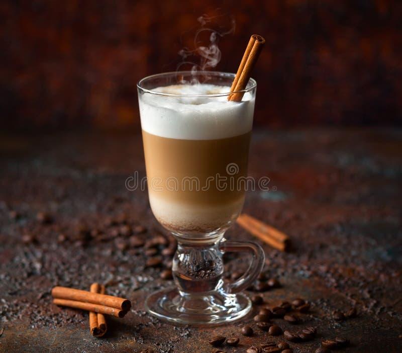 咖啡Latte 图库摄影