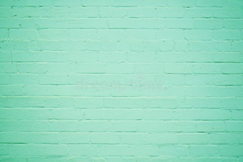 咧嘴砖墙 经典现代背景 免版税库存图片