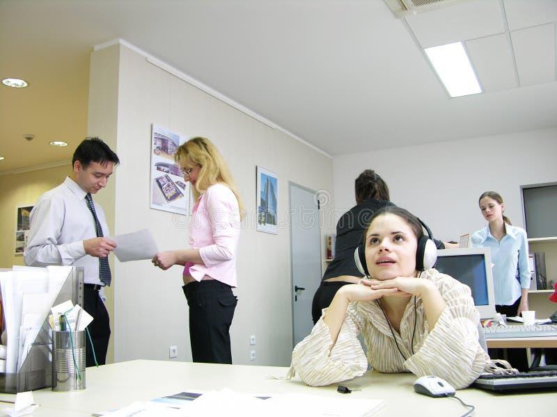 咨询的小组工作 免版税图库摄影