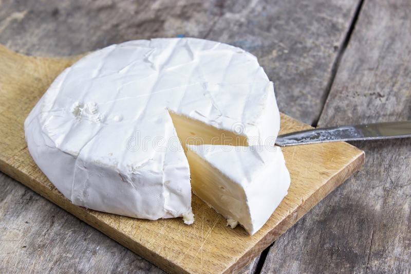 咸味干乳酪乳酪 库存图片