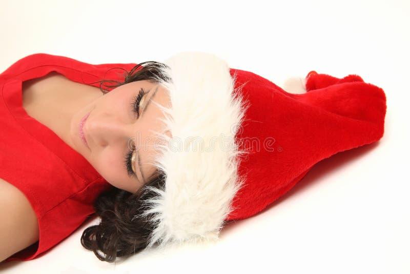 哀伤的圣诞节 库存图片