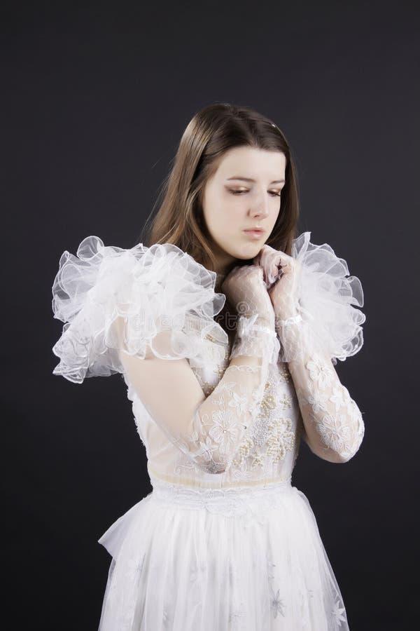 哀伤的新娘 库存图片