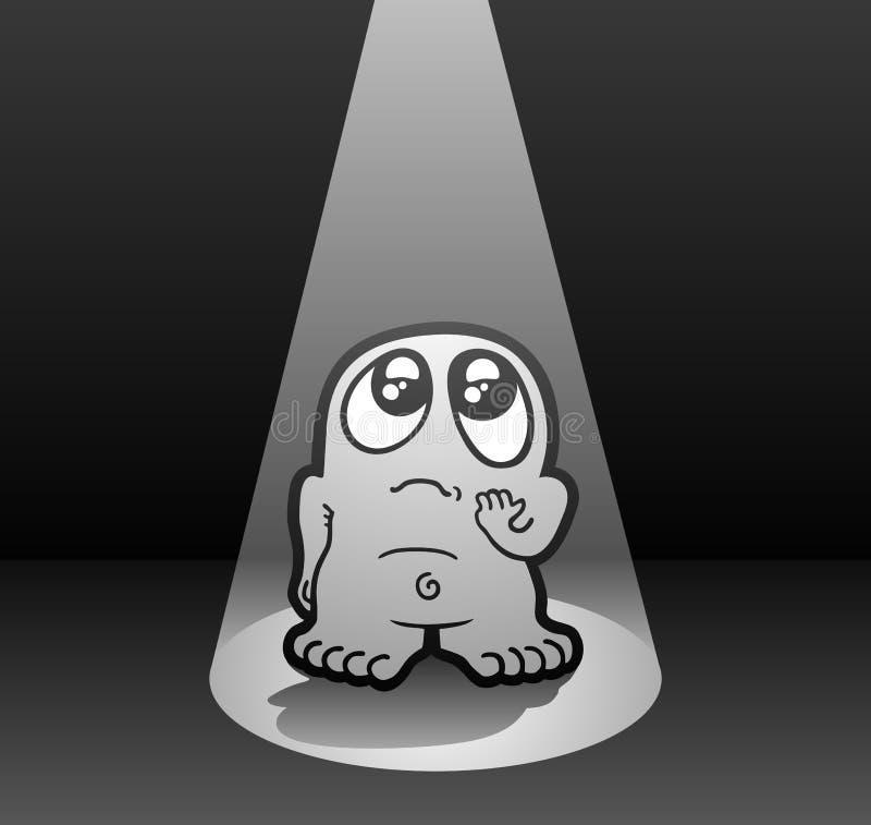 Download 哀伤的木偶 向量例证. 插画 包括有 万圣节, 传神, 半信半疑, 寂寞, 字符, 影子, 重点, 样式 - 30338011