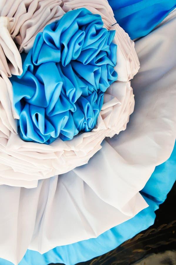 织品室外装饰 免版税库存图片