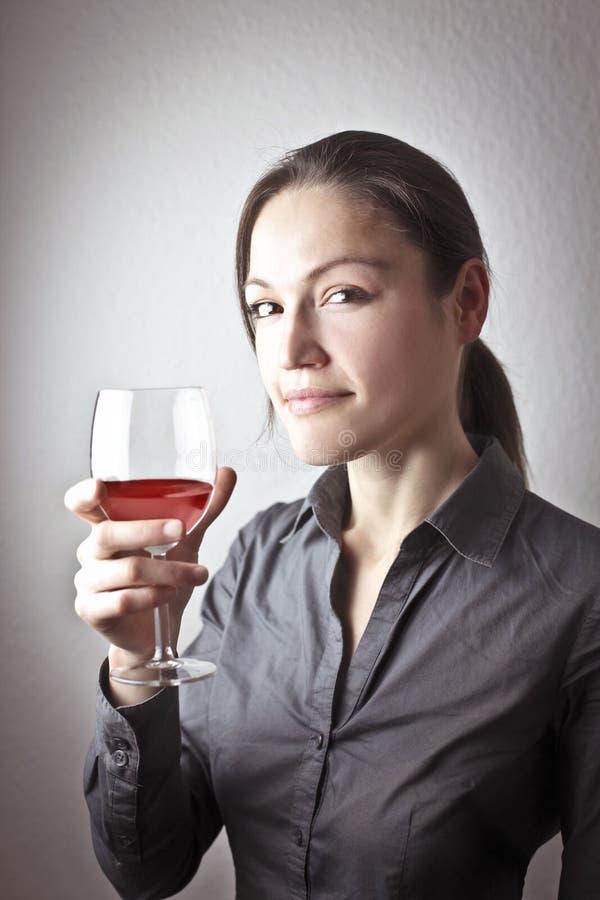 品尝酒 免版税库存照片