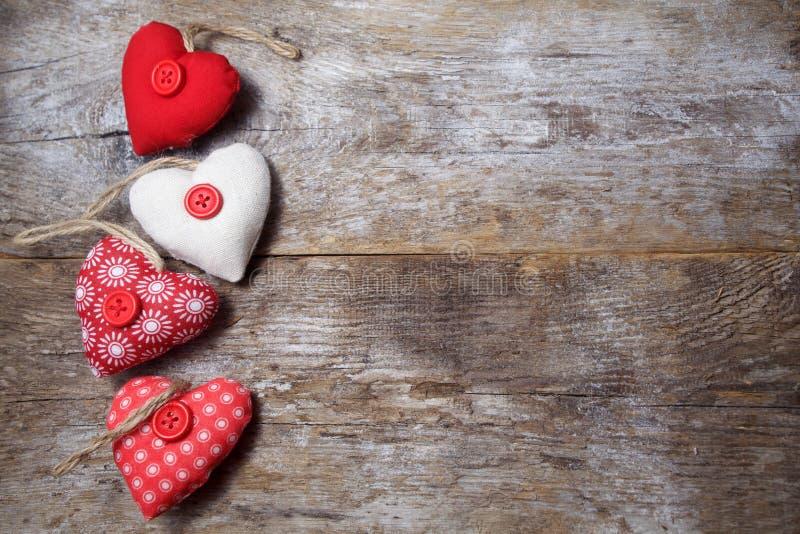 织品心脏 库存图片